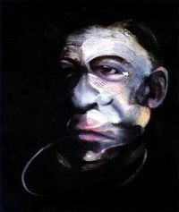 Portrait of Jacques Dupin  Francis Bacon 1990