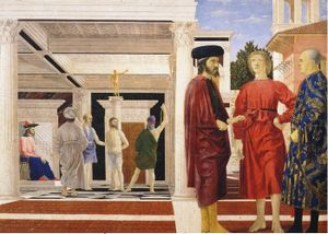 Piero della Francesca, Flagellation du Christ