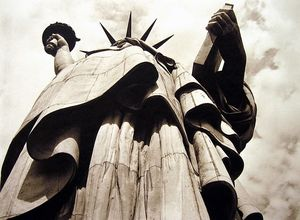 Statue of Liberty, New York, 1930, photographed by Margaret Bourke-White