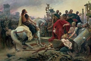 Vercingetorix-throws-down-his-arms-at-the-feet-of-julius-caesar-lionel-noel-royer
