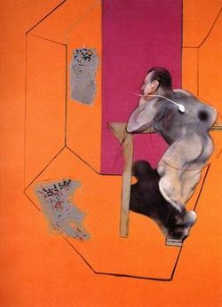 Francis_Bacon_Oedipus_and_the_Sphinz_after_Ingres_1978