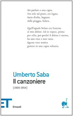 Saba, Canzoniere. 2
