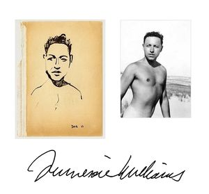 Tennessee Williams collage