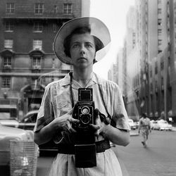 Vivian  Maier selfportait , undated