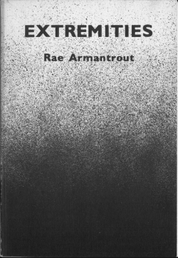 Rae Armantrout, Extremities