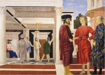 Piero della Francesca  La Flagellation du Christ