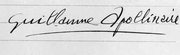 Signature_guillaume_apollinaire_1